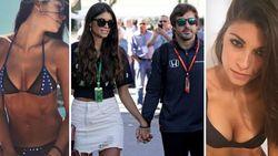 Op de McLaren kon Fernando Alonso alweer niet rekenen in Monza, op z'n WAG Linda wel