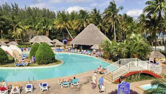 Une image de l'hôtel présente sur la brochure