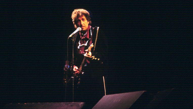 De teksten van Bob Dylan leverden hem een Nobelprijs op. Beeld anp