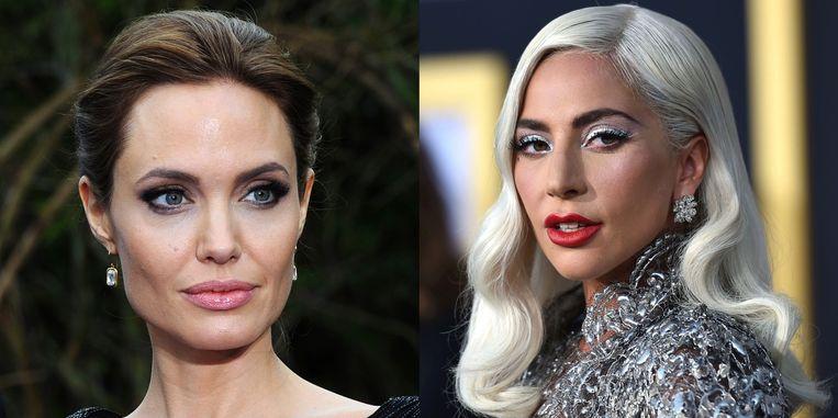 Angelina Jolie en Lady Gaga vechten om dezelfde rol.