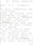 Les nouvelles expertises en écriture désignent Jacqueline Jacob comme l'auteur de la lettre typographiée du 27 avril 1983 adressée aux parents de Jean-Marie Villemin, le père de l'enfant.