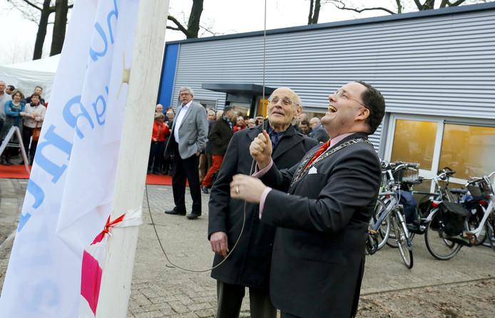 Theo Rath in 2015 toen tijdens de opening van het nieuwe Vincentiushuis.