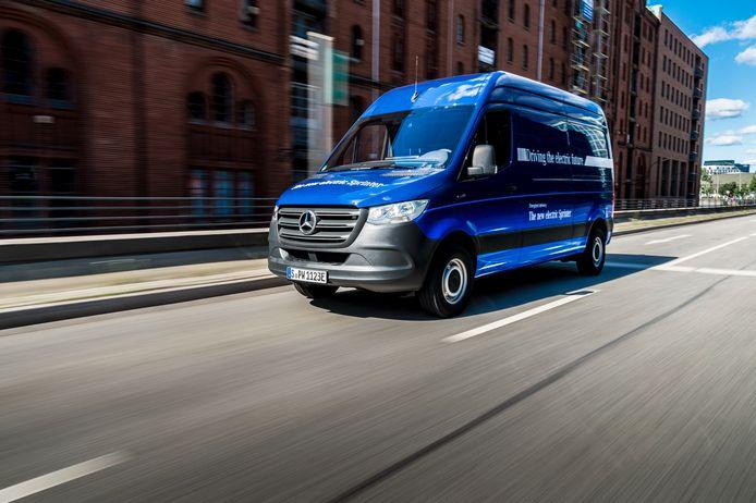 De productie van de Mercedes-Benz e-Sprinter is gestart