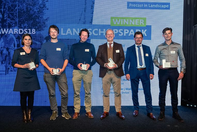 De winnaars van architectenbureau Cluster, prefabrikant Eurodal en studiebureau ARCHITEAM.