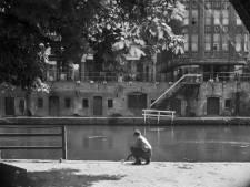 Zo zag de Oudegracht er in 1947 uit