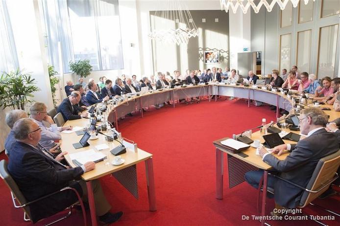De gemeenteraad van Twenterand in vergadering, op archiefbeeld.