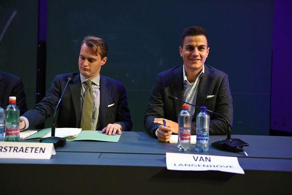 Het politiek debat met Dries Van Langenhove in Leuven.