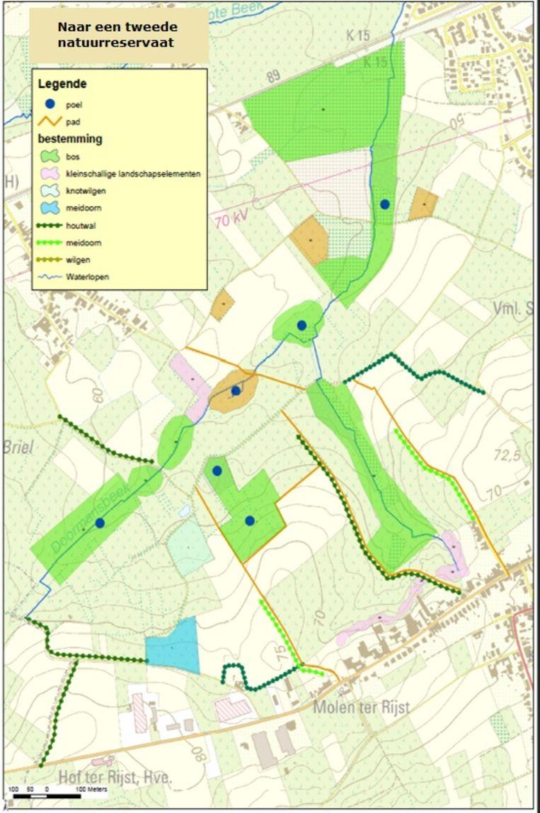Tussen Hillegem en Herzele wil de gemeente een tweede natuurreservaat aanleggen.