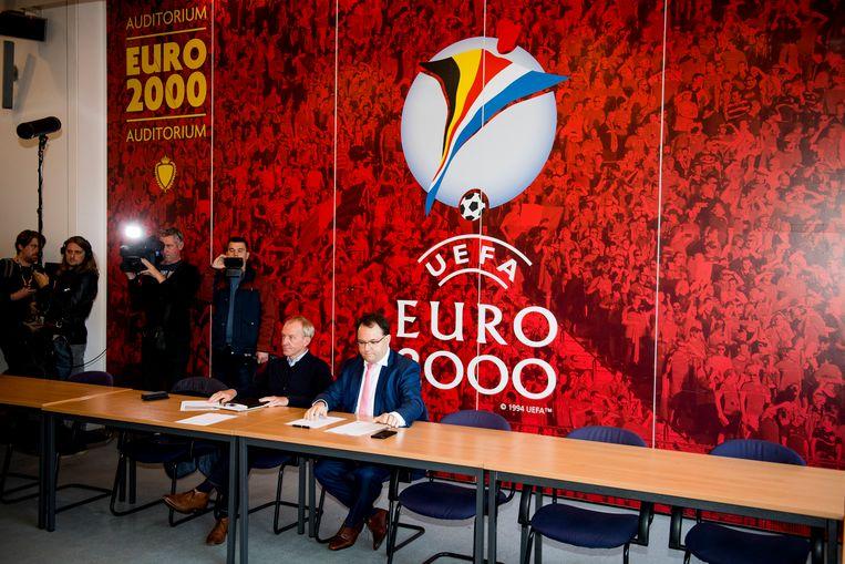 Bert Van der Auwera en Jo Van Biesbroeck mochten het uitleggen op de licentiecommissie