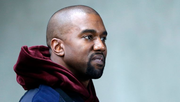 Heeft Kanye West een zenuwinzinking. Beeld EPA