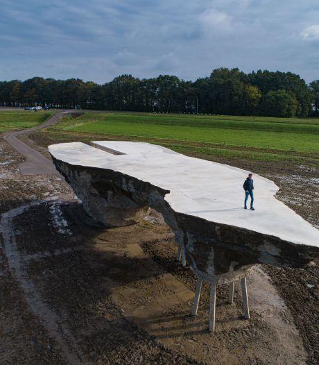 Eindelijk oplossing voor gevaarlijk landschapskunstwerk bij Biddinghuizen