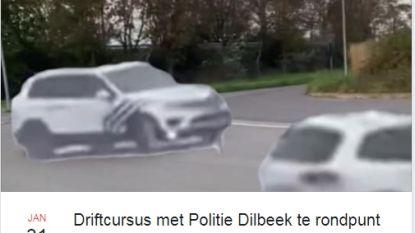 Grappig: Facebookgebruikers organiseren 'driftcursus met politie Dilbeek'
