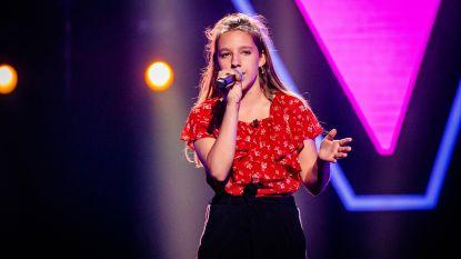 Helena (13) uit Heusden in laatste audities The Voice Kids