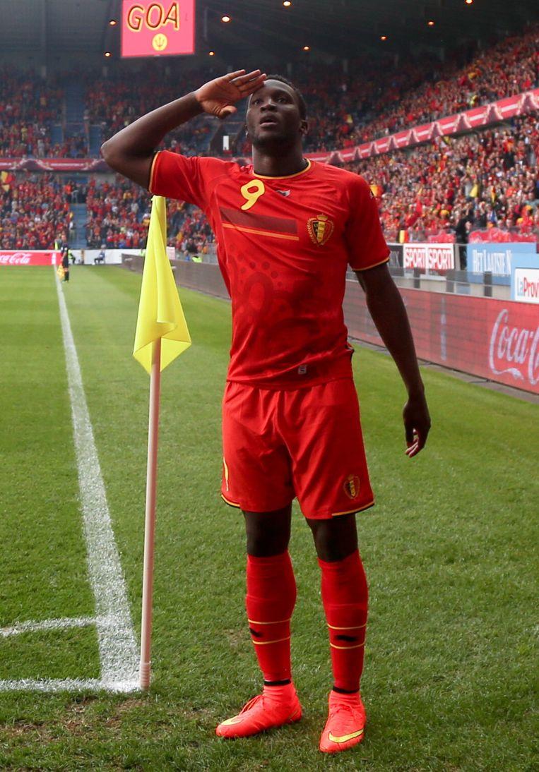 Romelu Lukaku tekende present in Genk met drie goals, al kon hij er ook vijf gemaakt hebben.