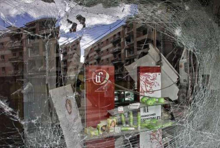 De ETA pleegde op 22 maart een aanslag in Calahorra.