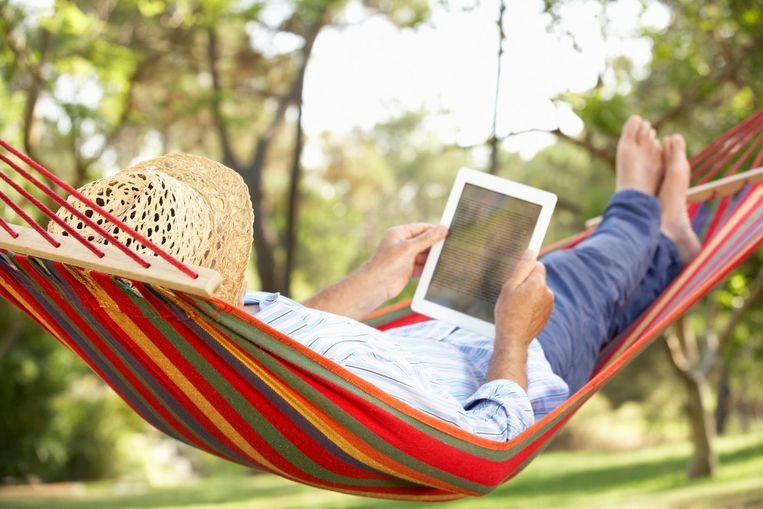 Ideaal voor op vakantie: doop je iPad om tot e-reader.
