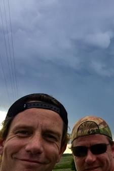 Het zit Nederlandse tornadojagers in VS nog niet mee