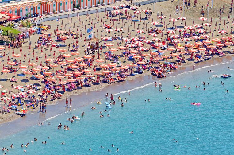 Strand in Sorrento