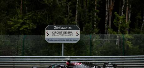 Des intrus interceptés dans les bois et un car refoulé en marge du GP de Belgique à huis clos