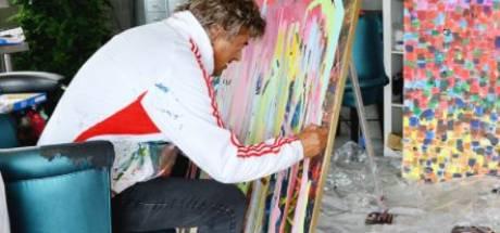 Rob van Daal, zanger èn schilder, zondag bij Harry Mens