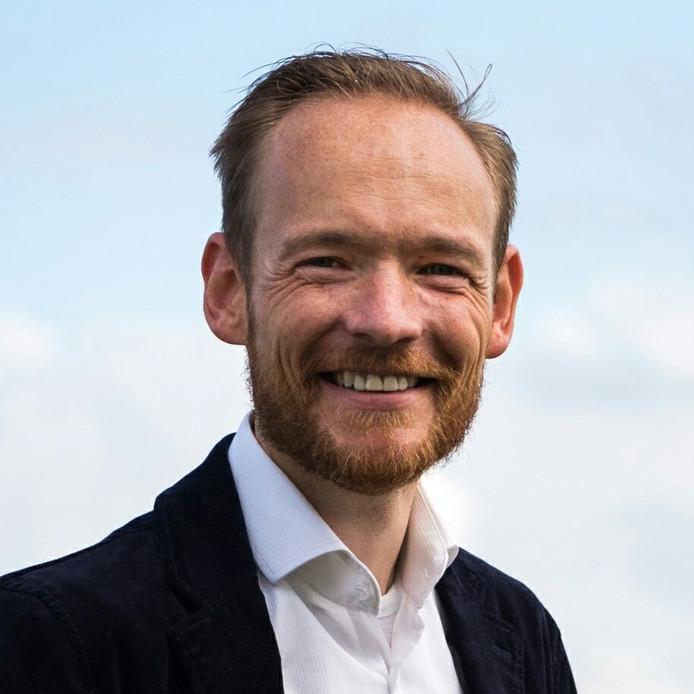 Daniel Becker van de ChristenUnie in Arnhem.