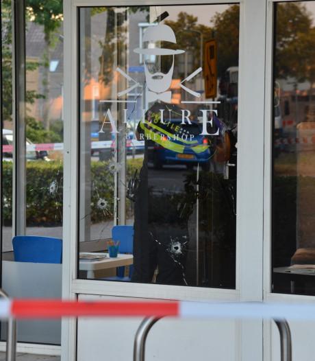 Barbershop in Breda beschoten: meer dan tien kogels afgevuurd