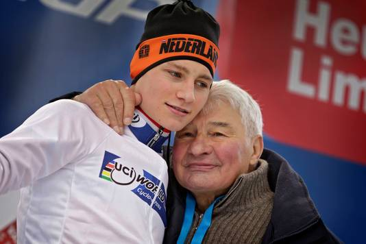 Mathieu van der Poel en zijn opa, Raymond Poulidor