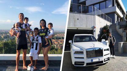 Ook de verplichte quarantaine van Ronaldo in Turijn is geen strafkamp: de poepchique woonst van 'CR7'