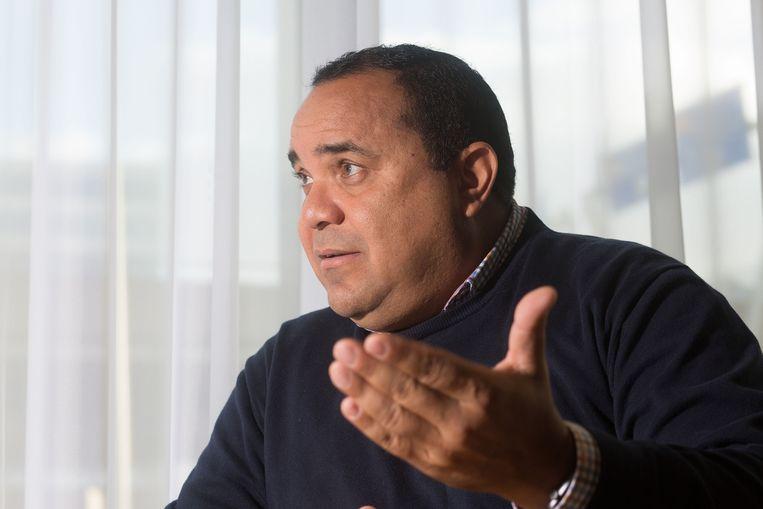 Edison Rijna: 'Geiten zijn heilig op Bonaire, daar moet je van afblijven.' Beeld Maartje Geels