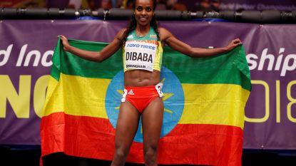 Ethiopische Dibaba, wereldrecordhoudster op 1.500m, geeft forfait voor WK dat ruim 1.900 atleten ontvangt