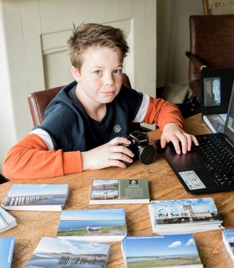 Jonge ondernemer Kaj verdient zijn eigen geld met fotograferen