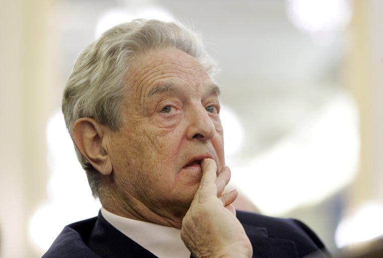 George Soros. Beeld epa