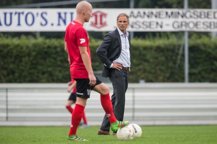 Trainer Anton Janssen van De Treffers.