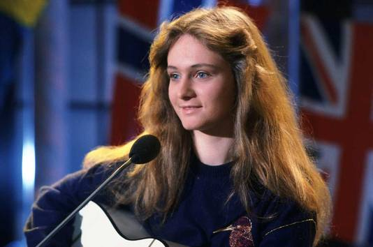 Nicole, Duitse zangeres, won in 1982 het Eurovisie Songfestival .