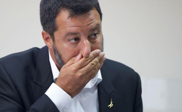 Matteo Salvini Beeld Reuters