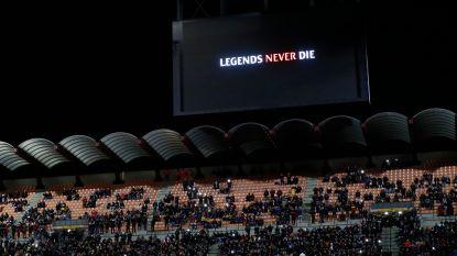 San Siro brengt hulde aan overleden Kobe Bryant