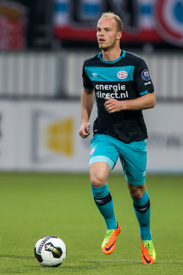 Jorrit Hendrix was zaterdag een van de beste mannen op het veld bij Sparta-PSV.