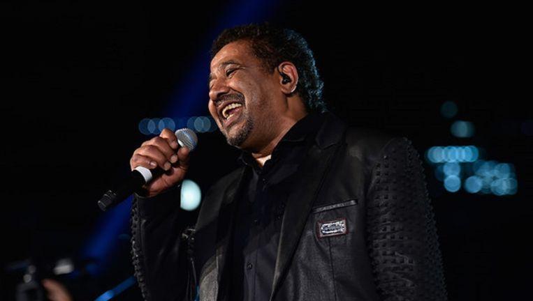 Optreden van rai-zanger Cheb Khaled. Beeld getty