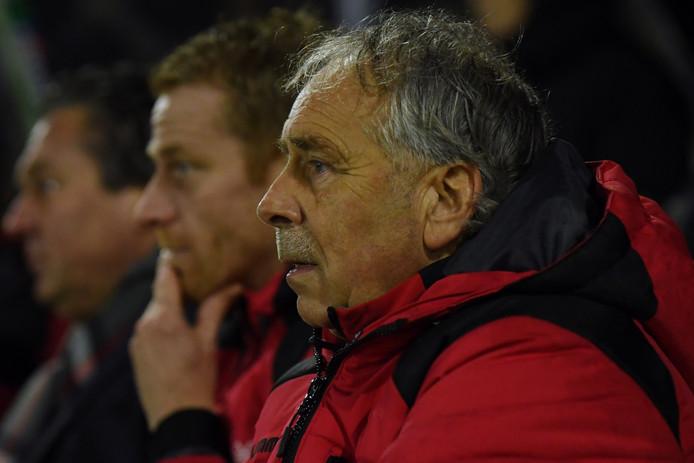 GA Eagles-trainer Jan van Staa.