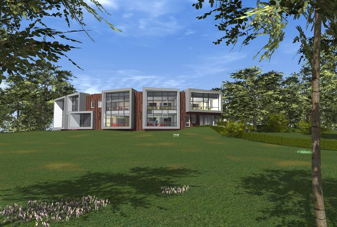 De Dorpsschool in Rozendaal.