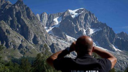 Veiligheidsmaatregelen aan Italiaanse kant Mont Blanc opgeheven nadat stuk van gletsjer dreigde af te breken