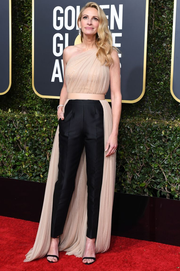 Julia Roberts, die genomineerd is voor beste actrice in een tv-serie (drama) voor 'Homecoming'.
