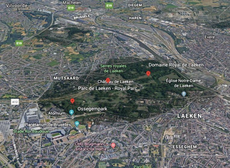 Het park is een groene long in de hoofdstad.