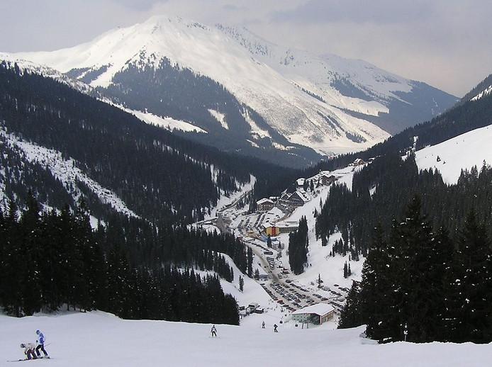 Skigebied Hochfügen.