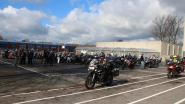 Tweehonderd motorrijders verzamelen op Don Bosco Halle voor rondrit