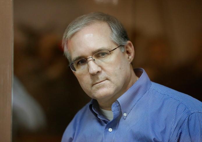De van spionage verdachte Paul Whelan blijft voorlopig in een Russische cel zitten.