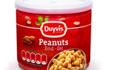 PepsiCo roept gezouten pindanoten van Duyvis terug