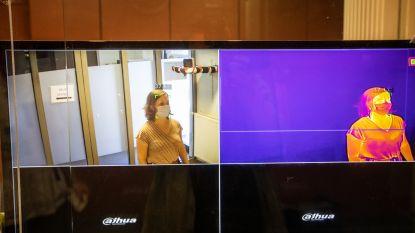 Nog voor patiënt spoedafdeling Sint-Trudo Ziekenhuis betreedt, wordt de temperatuur gemeten