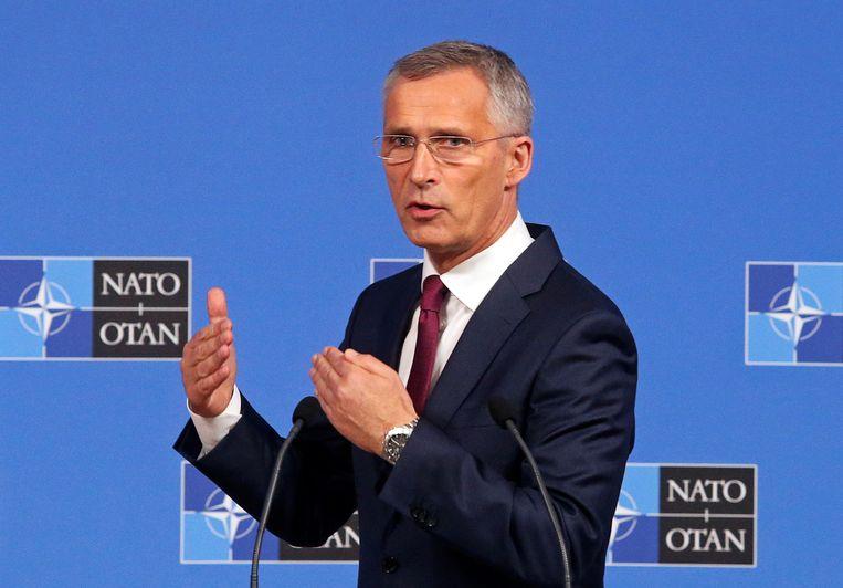 De Noorse NAVO-secretaris-generaal Jens Stoltenberg.