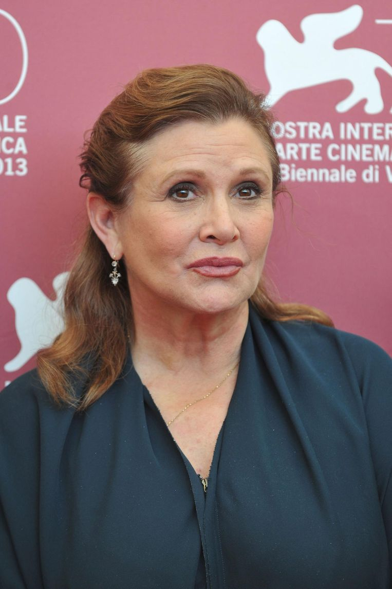 Carrie Fisher in 2013. Beeld afp